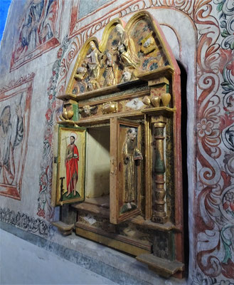 Der Altar.