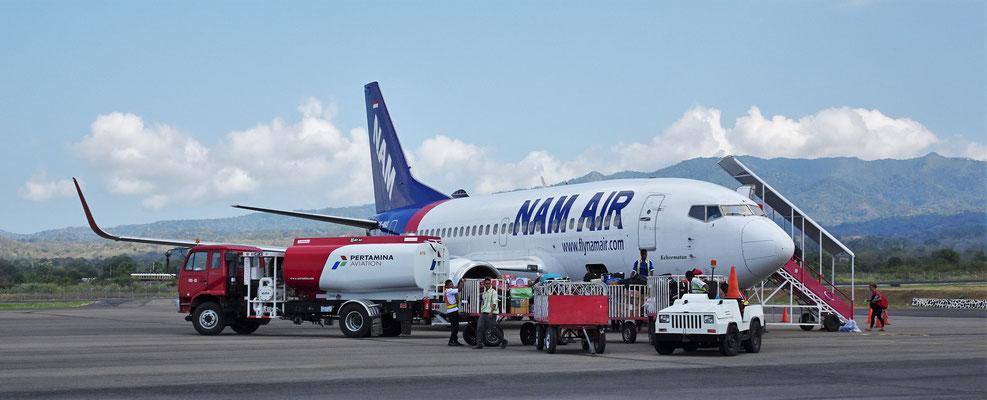 ...mit der Nam Air.