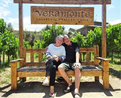 Ausflug zum Weingut Veramonte.....