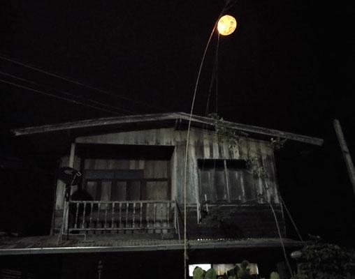 Das Nachtlicht des Nachbar.