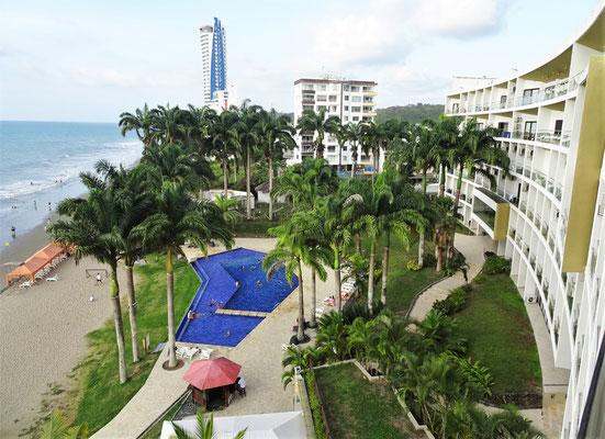 .....im Makana Resort aus gesehen.