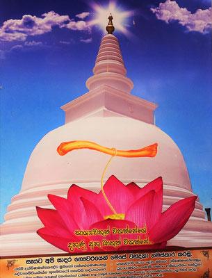 Der Thuparama Stupa der den....