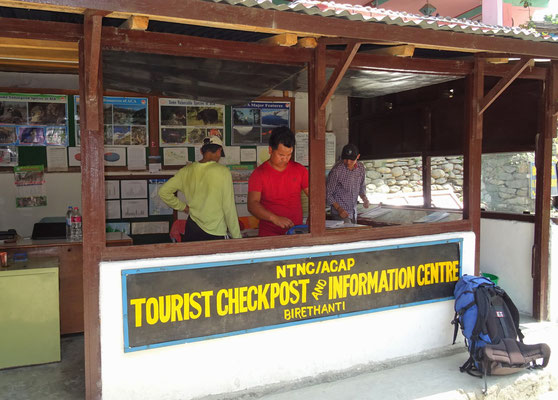 ..und der erste Checkpoint.
