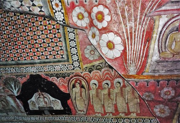Die faszinierenden Deckenmalereien....