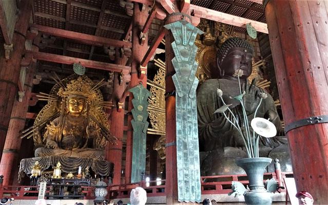 Die grosse Bronzene Budha Statue....