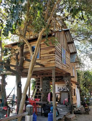In diesem Baumhaus gibt.....