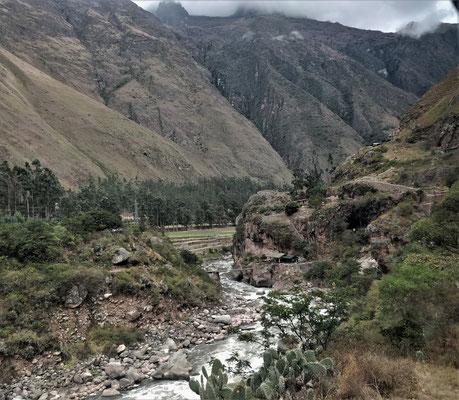 Der Urubamba Fluss.