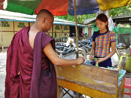 Auch der Mönch liebt es.