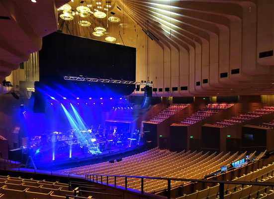Der Konzertsaal.