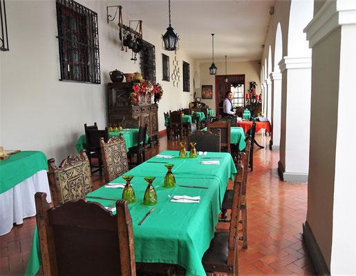 Das Restaurant....