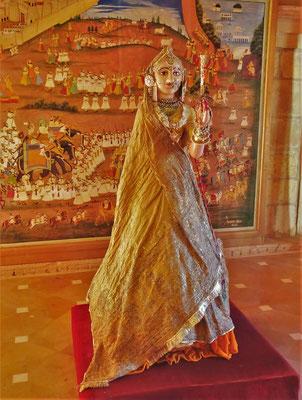 ..das Kleid der Maharani.