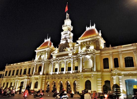 Das Rathaus.