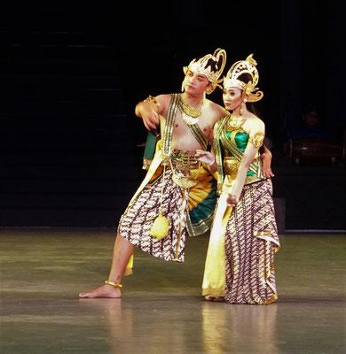 Rama und Sita.
