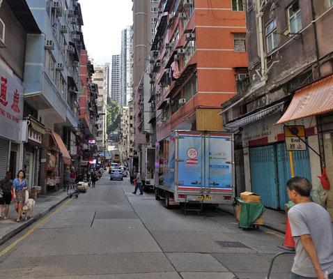 Kleine Seitenstrassen.