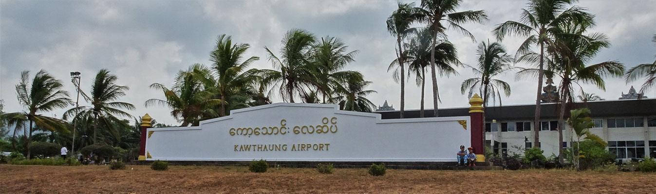Ankunft in Kawthaung...