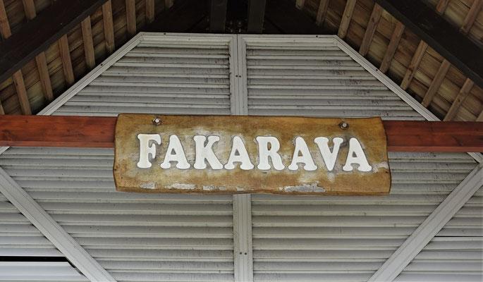 ......Fakarava mit der.....