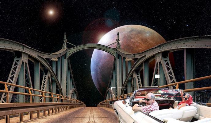 Kleiner Ausflug zum Mond......