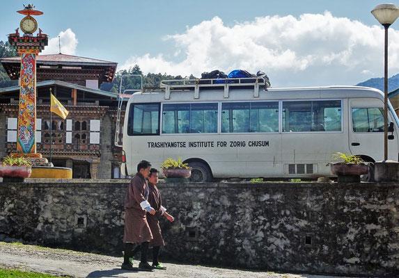 Die Kunstschule in Trashiyangtse.