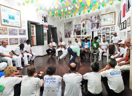 Ein Capoeira-Club........