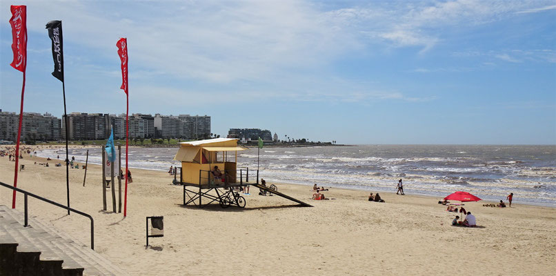 Der Strand mit.....