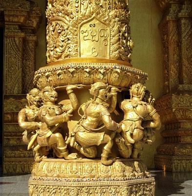 Spezielles Säulendetail.