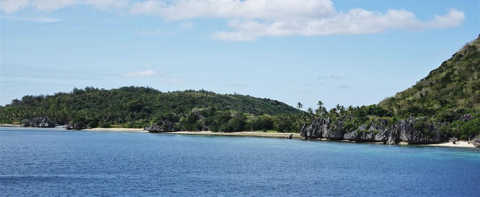 .....zur Blue Lagoon Insel....