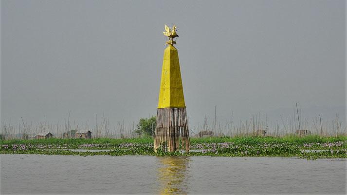 Der Kawarak, das Wappentier des Königs