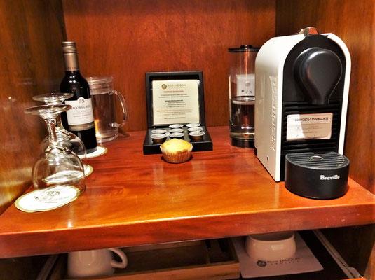 Der Hit eine Nespresso Maschine.