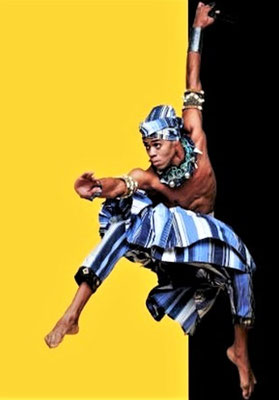 Das Tanztheater Bale Folclorico da Bahia.