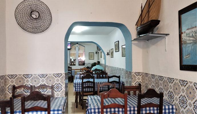 Das Restaurant Chalavar.....