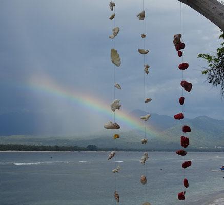 ...schönem Regenbogen.