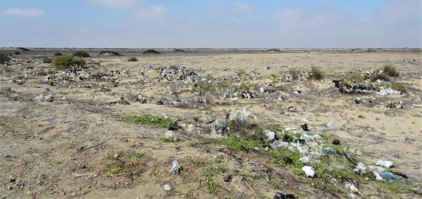 Leider hat es viele solche Müllhalden.