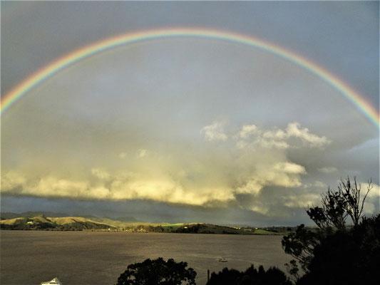 .....gab es einen Regenbogen....