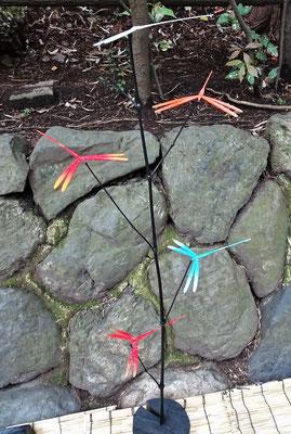 Kunstvolle Bambuslibellen....