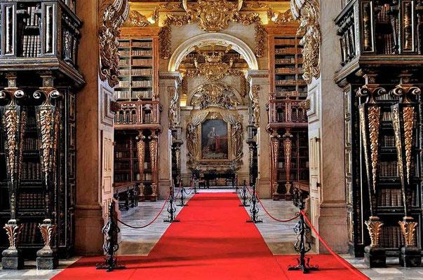 Die Originalbibliothek (Foto aus dem Internet)