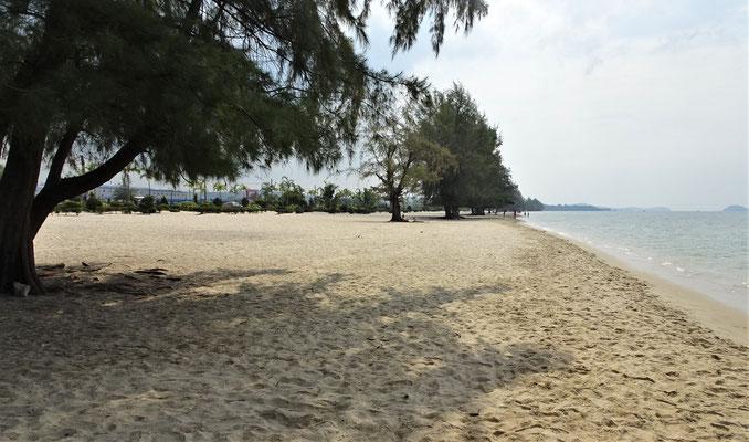 ....Strandabschnitt aber wie lange noch.