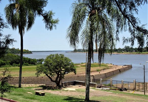 Der Grenzfluss, Rio Uruguay.