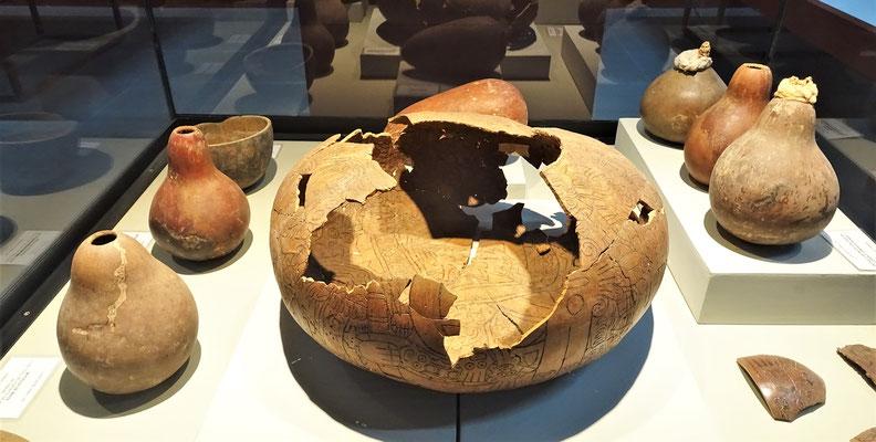 Die Nascas lebten vor den Inkas.....