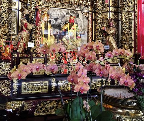 Das Innere des Tempels.