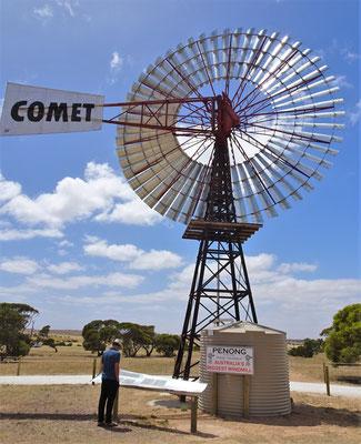 ....grössten Windmühle Australiens....