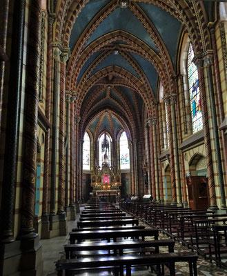 Die Kapelle hinter dem Altar.