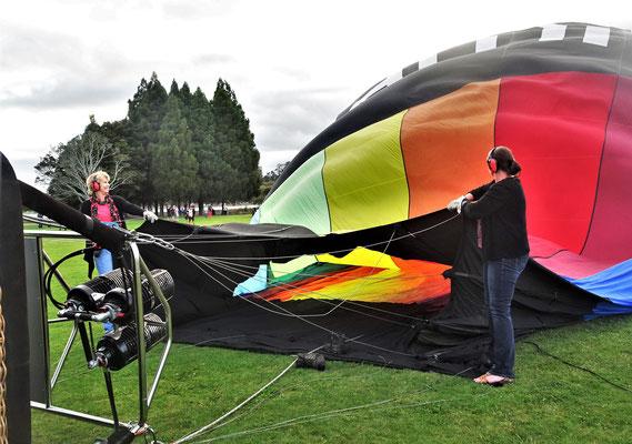 Ein Heissluftballon.....