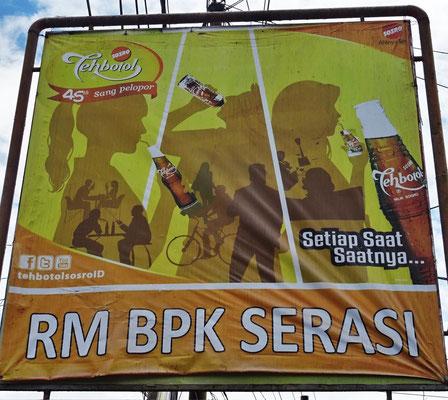 Ein seltenes BPK Restaurant (Babi Panggang Karo)