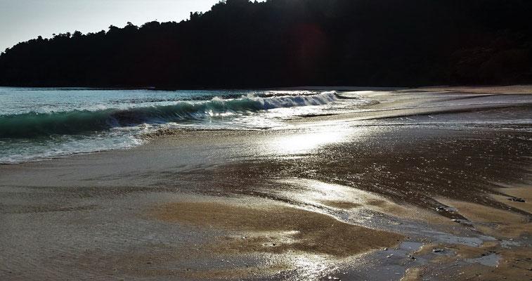 Abendliche Strandstimmung.