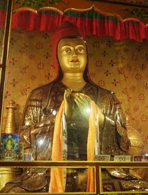 Der Rote Hut Lama der Sanskribt auf tibetisch übersetzte.
