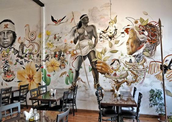 Das Bild der Französin Arty Mori (Künstlername).....