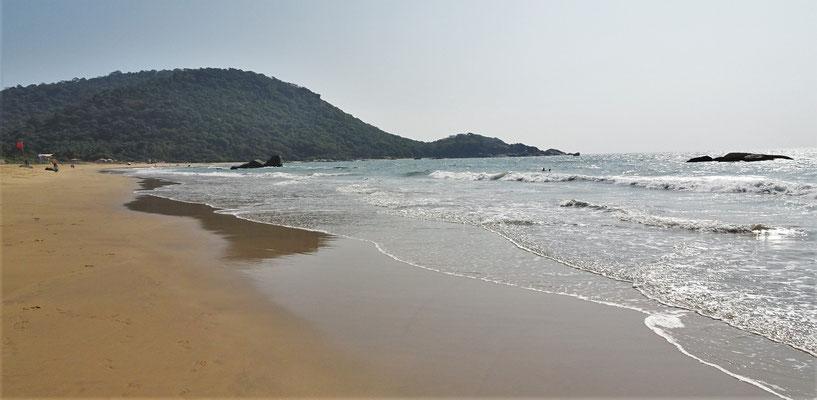 Unser Strand mit den Wellen....