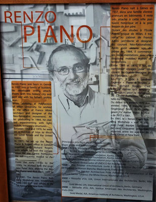 ......von Renzo Piano.....
