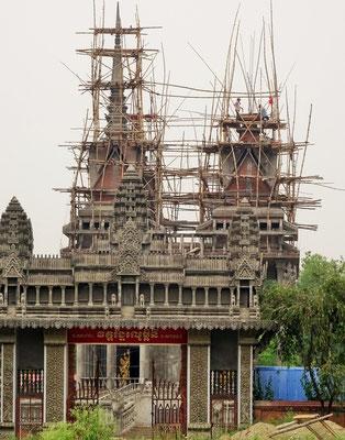 Der indische Tempel (im Bau)