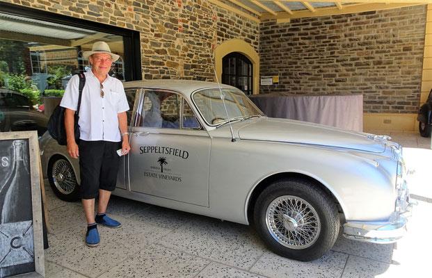 Das Weingut Seppeltsfield.....